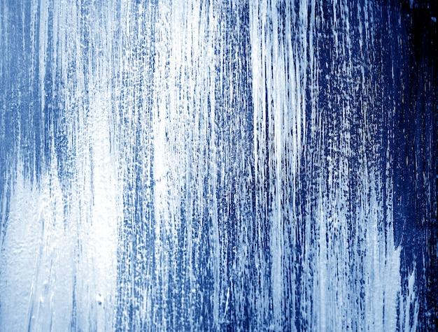 Fondo astratto blu scuro della pittura ad olio.