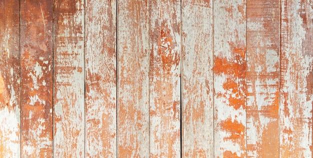 Fondo astratto dalla vecchia parete di legno marrone del modello con il lerciume e graffiato.