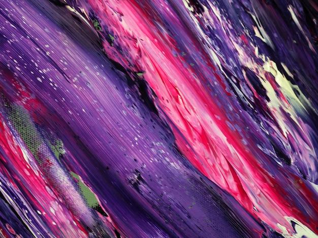 Fondo astratto dell'estratto della pittura ad olio di colore