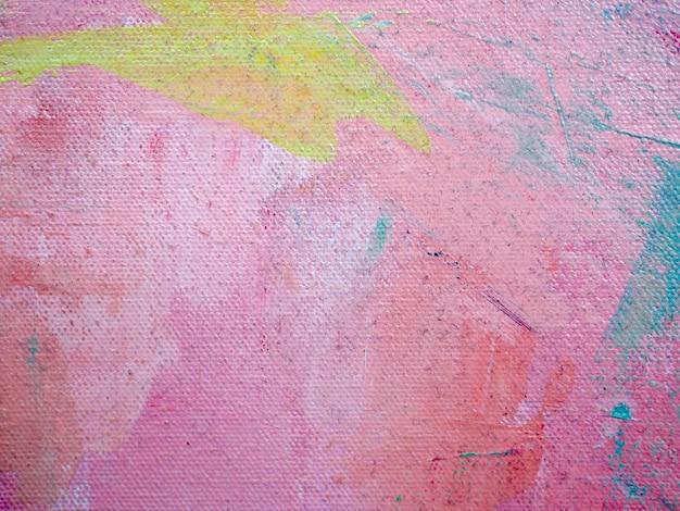 Fondo astratto dell'estratto della pittura ad olio dolce di colori variopinti