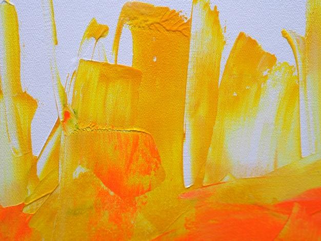 Fondo astratto della pittura ad olio