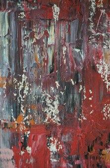 Fondo astratto della pittura di colore a olio