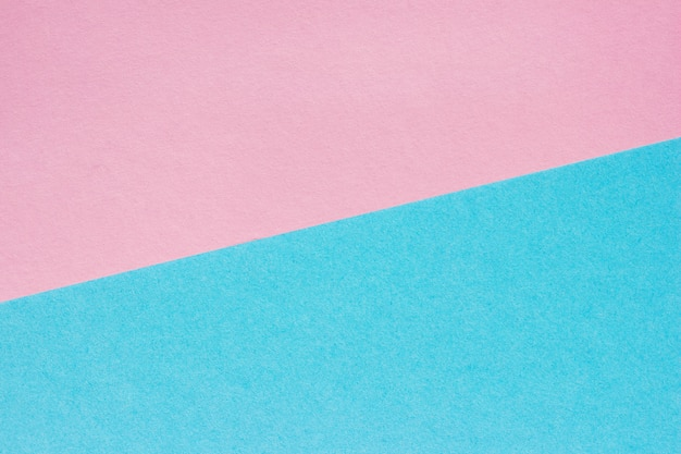 Fondo astratto di carta rosa e blu, struttura