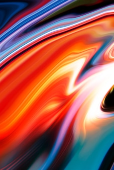 Fondo astratto di struttura di colore fluido