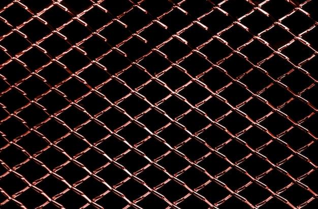 Fondo astratto di struttura netta del metallo rosso scuro