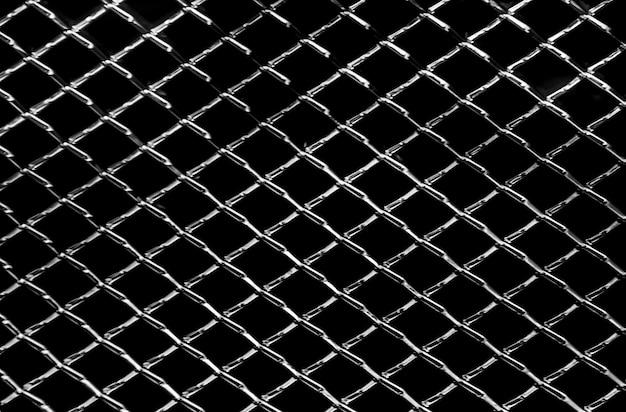 Fondo astratto di struttura netta del metallo scuro
