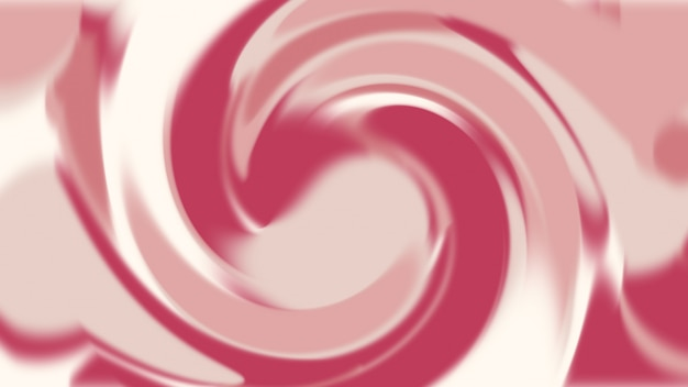 Fondo astratto rosa e rosso di struttura del movimento liquido