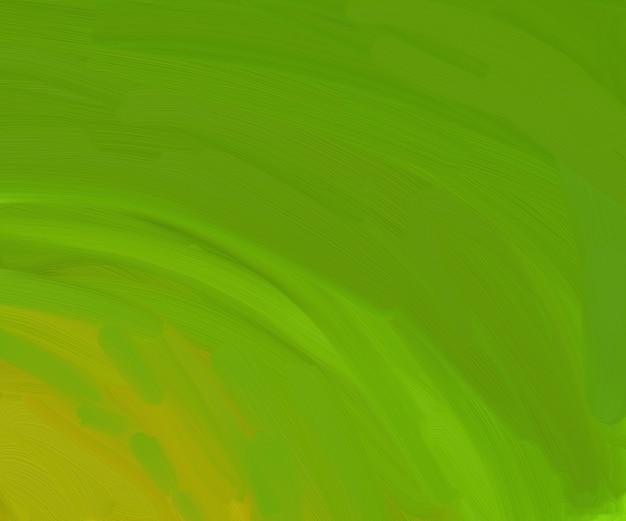 Fondo astratto verde di digital art brush