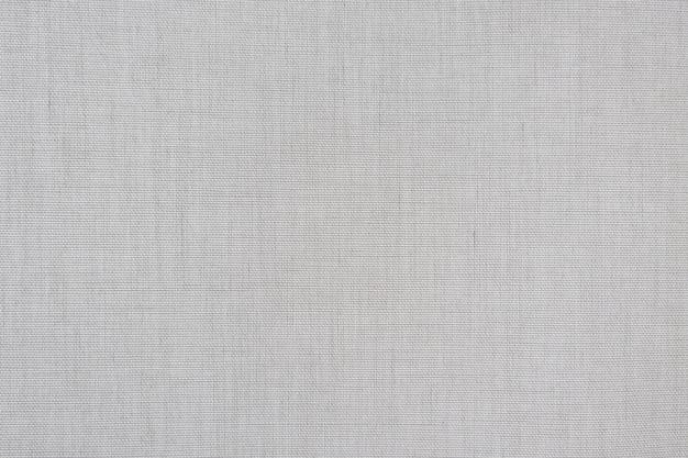 Fondo bianco del modello di struttura della tela del tessuto