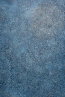 Fondo blu classico dipinto struttura.