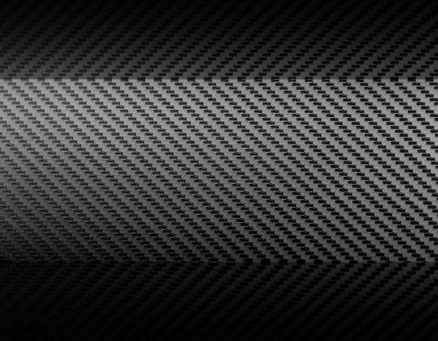 Fondo composito della materia prima della fibra di carbonio grigia