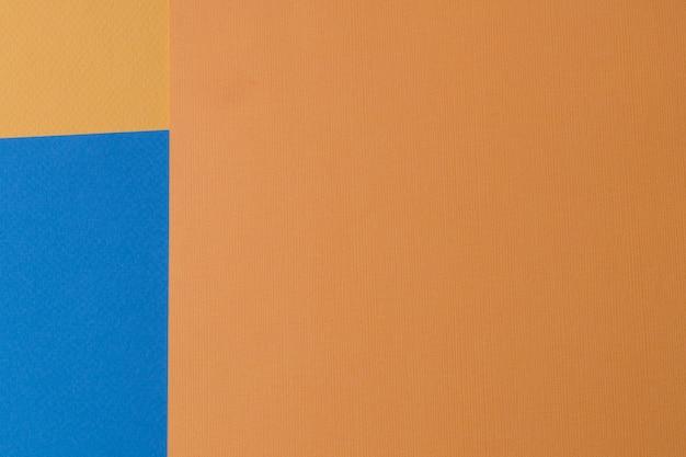 Fondo creativo di carta di colori pastelli, vista da sopra, insegna.