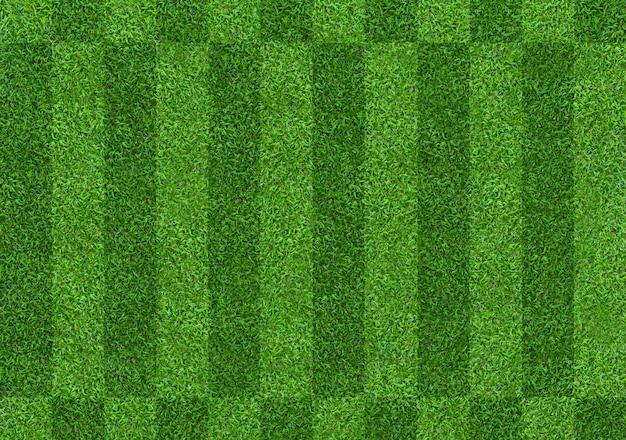 Fondo del campo di erba verde per calcio e sport di calcio