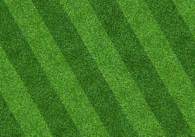 Fondo del modello del campo di erba verde per calcio e calcio.