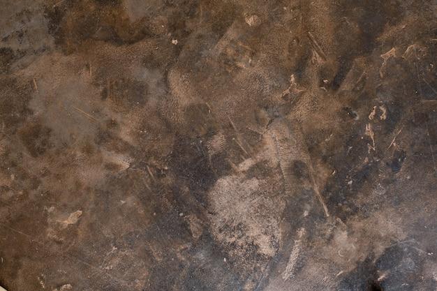 Fondo del mortaio, struttura del cemento, parete