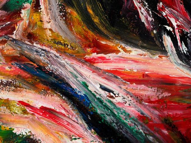 Fondo dell'estratto di struttura della pittura ad olio