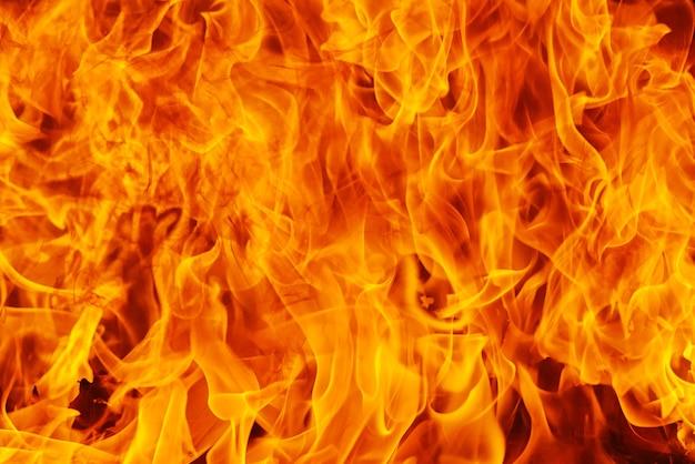 Fondo della fiamma del fuoco ardente e strutturato
