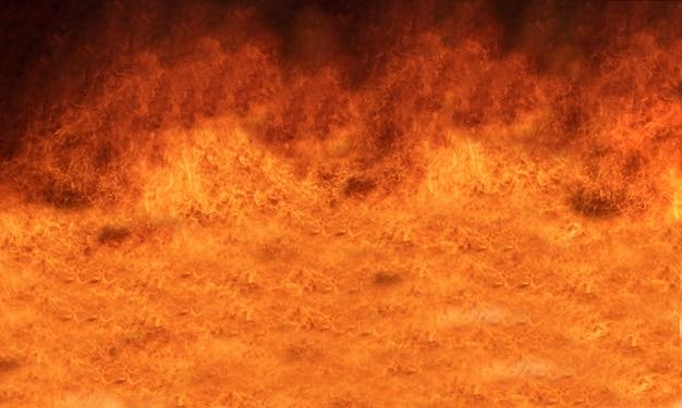 Fondo della fiamma del fuoco della fiammata e strutturato.