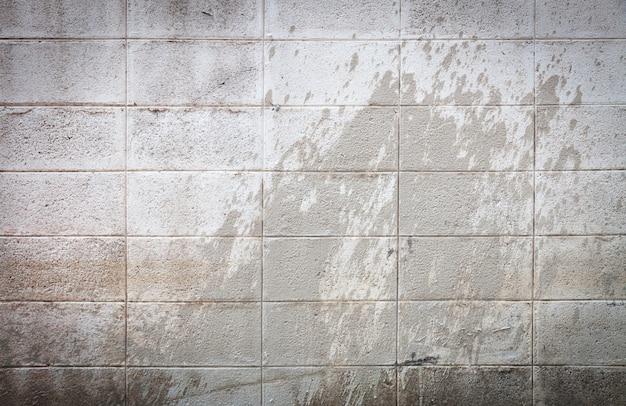 Fondo della parete del blocchetto di cenere