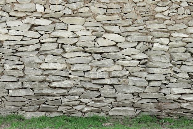 Fondo della parete di pietra, struttura grigia della roccia nel modello naturale con l'alta risoluzione.