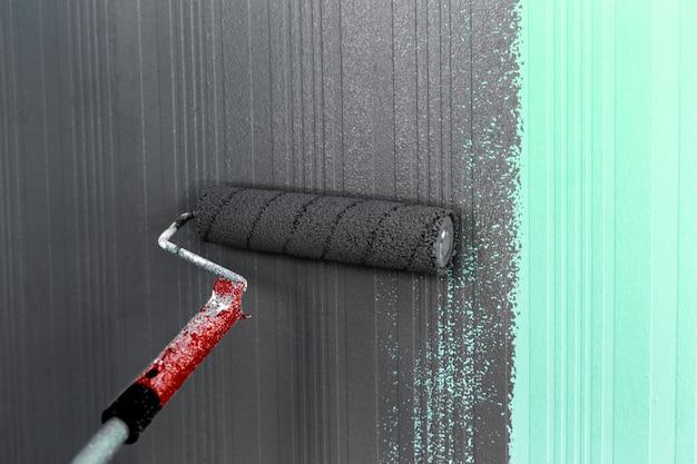 Fondo della pittura della spazzola del rullo