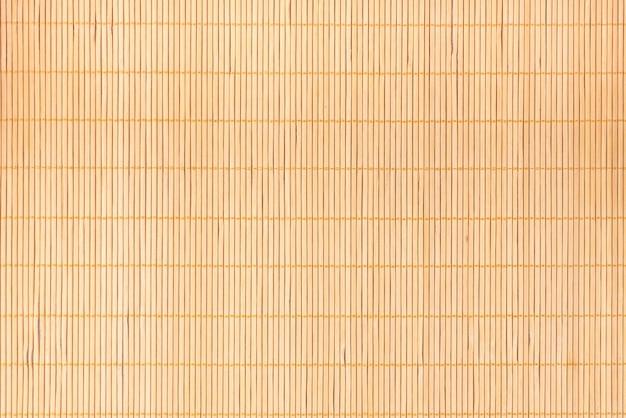 Fondo della stuoia dei sushi di bambù giapponese marrone