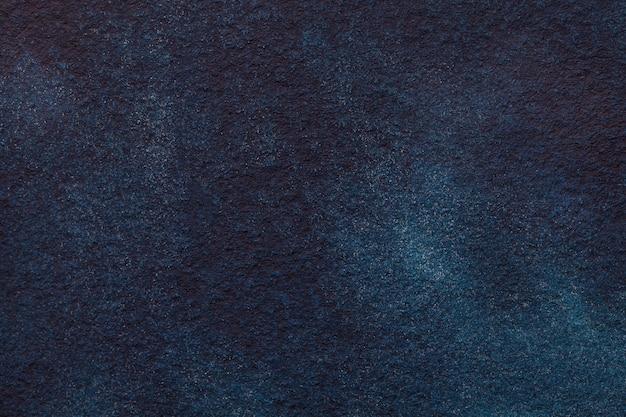 Fondo di astrattismo blu scuro e nero