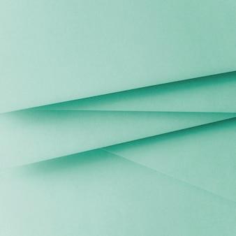 Fondo di disposizione piano geometrico di carta di colore pastello