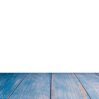Fondo di legno blu di struttura del fondo