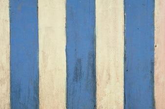 Fondo di legno blu e bianco di struttura della plancia della tavola di pittura