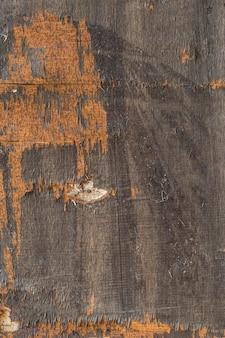 Fondo di legno d'annata, struttura di legno dipinta misera. - immagine