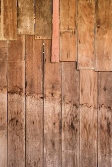 Fondo di legno del granaio stagionato rustico