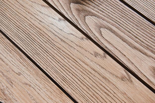 Fondo di legno di struttura di marrone della plancia. struttura di legno.