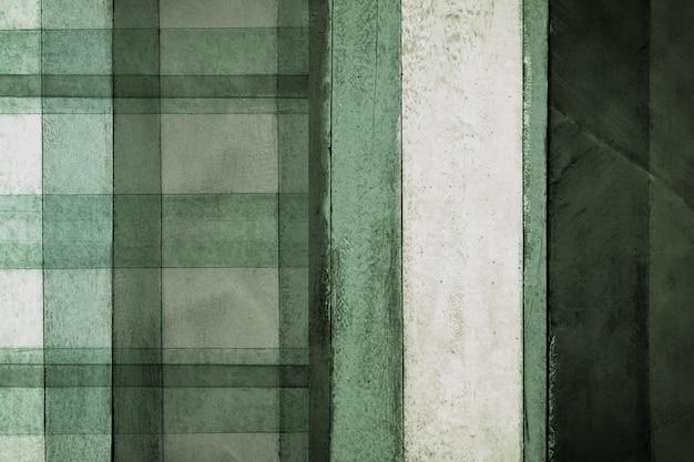 Fondo di legno variopinto dell'estratto di struttura del pannello di colore verde, giallo e blu per progettazione