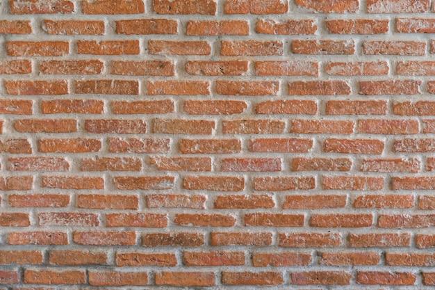 Fondo di lerciume di struttura del muro di mattoni rossi