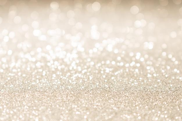 Fondo di luci vintage glitter oro di natale.