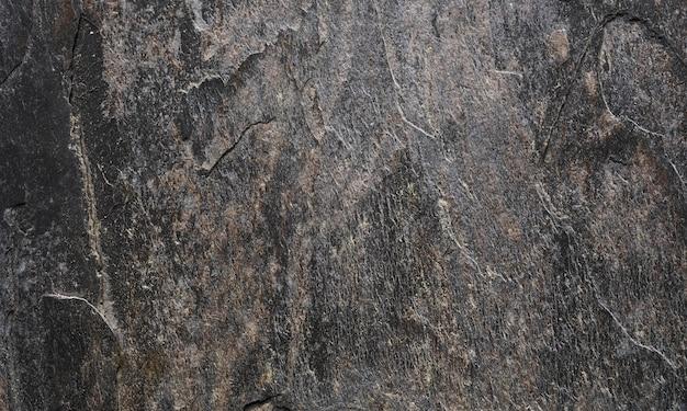 Fondo di pietra nero ruvido di struttura di lerciume.