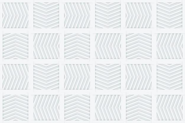 Fondo di progettazione di parete di piastrelle di ceramica di forma quadrata moderna senza cuciture freccia.