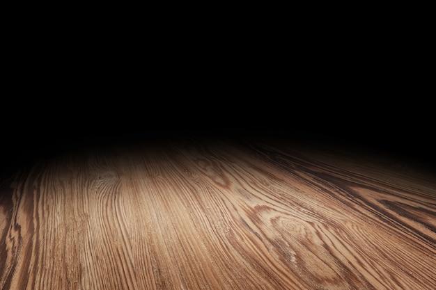 Fondo di prospettiva di struttura del pavimento di legno di brown