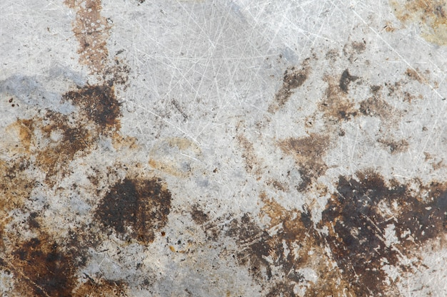 Fondo di struttura d'acciaio del metallo di lerciume