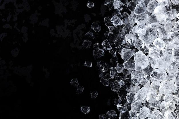 Fondo di struttura dei cubetti di ghiaccio schiacciato