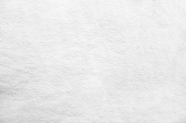 Fondo di struttura del tessuto del panno bianco