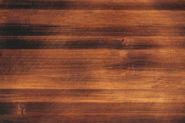 Fondo di struttura della parete del pavimento graffiato legno scuro