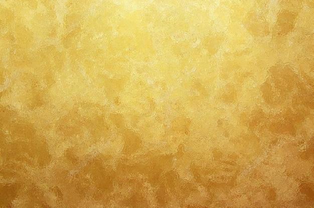 Fondo di struttura della stagnola sgualcito oro
