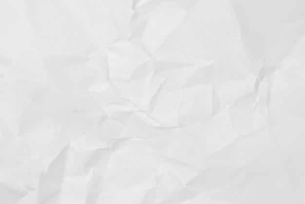 Fondo di struttura di carta piegato bianco