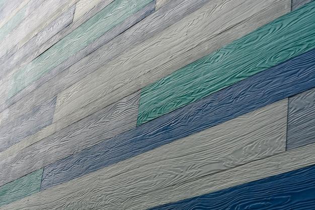 Fondo di struttura di legno del cemento