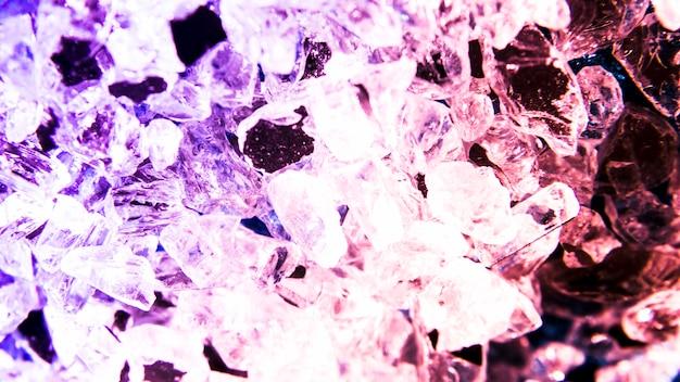 Fondo di struttura di scintillio con i cristalli