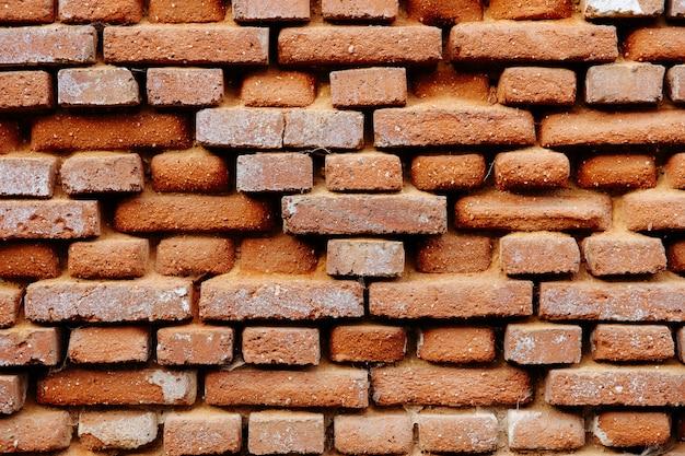 Fondo di struttura di vecchio muro di mattoni