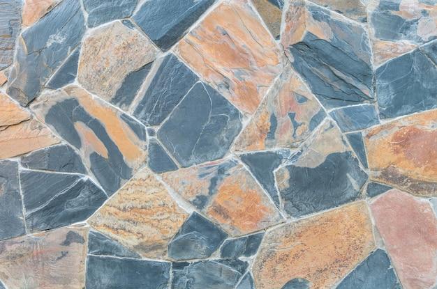 Fondo di superficie della parete di pietra del primo piano