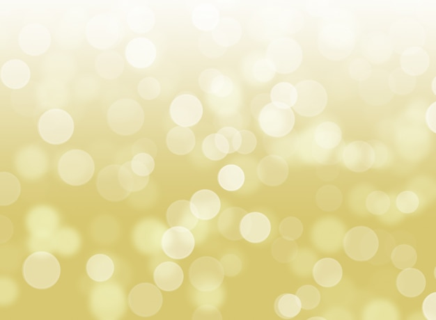 Fondo dorato astratto di marrone del bokeh delle luci